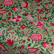 Fabric by the Yard Yvette Design Green