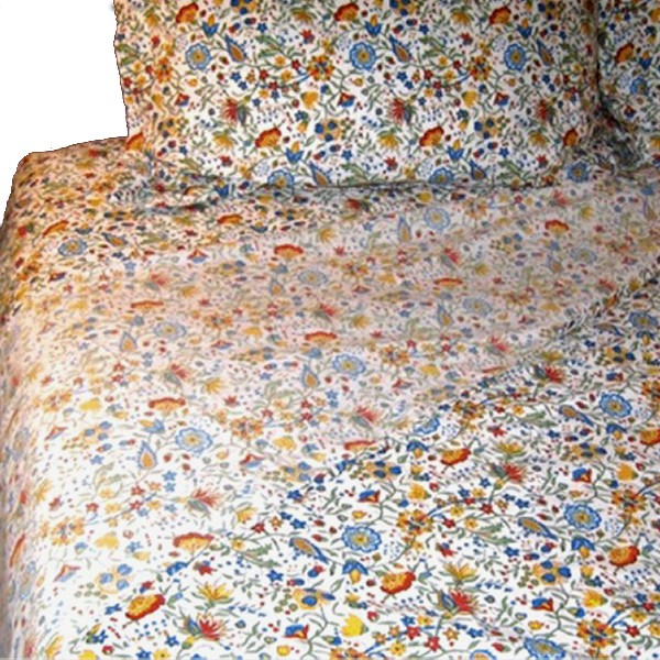Bed Sheets Yvette White