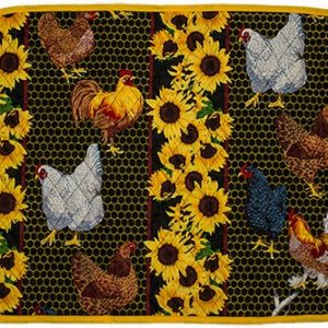 A Touch of Provence Place-mat Rooster and Hen
