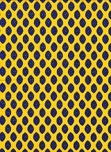 Fabric by the Yard Calisson Design Yellow and Blue